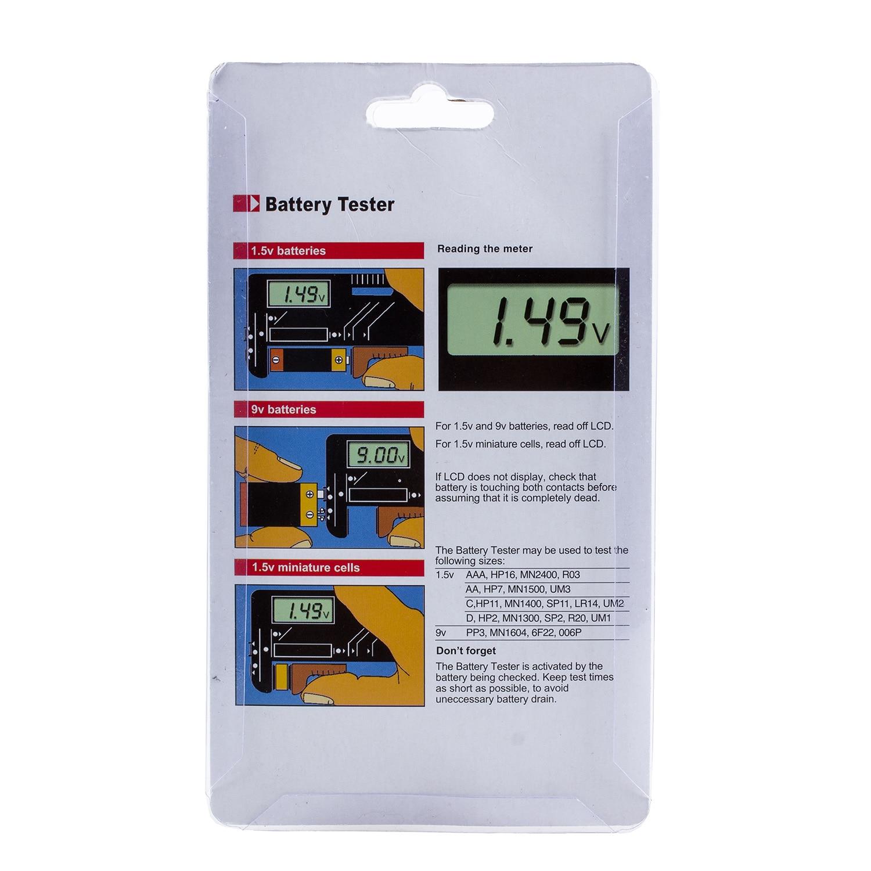 Przydatny nowy brytyjski tester akumulatorów Volt Checker do - Przyrządy pomiarowe - Zdjęcie 5