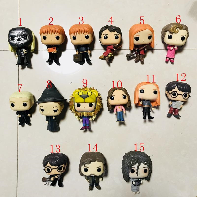 imperfect funko pop official harry potter  ginny weasley  minerva mcgonagall  sirius  lucius