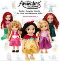 Frozen Princess Animators Collection 12Inch Doll Cinderella Repunzel/Snow White/ Mermaid/Kristoff /Tinker Belle/Anna/Elsa
