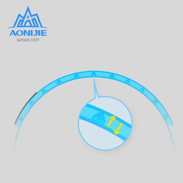 Aonijie E4088 Hair Band Sports Sweat Guide Band Yoga Unisex Adjustable Head Belt Multi-functional Running 5