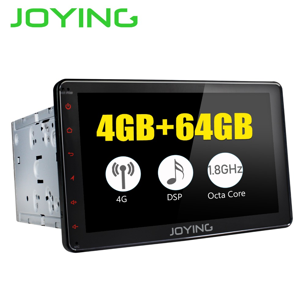 JOYING 2 Din 8 Android 8 1 Car Stereo Intel 8 core 4GB 64G Universal Touch