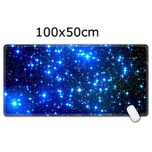 Large Gaming Mouse Pad 1000*500 mm Locking Edge Mouse Mat Keyboard Mat Desk Pad  цена и фото
