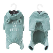 Купить с кэшбэком Dog Clothes for Small Dogs Pajamas for French Bulldog Cotton Jumpsuit for Chihuahua Cat Puppy Pet Coat Clothes Dog Costume XXL