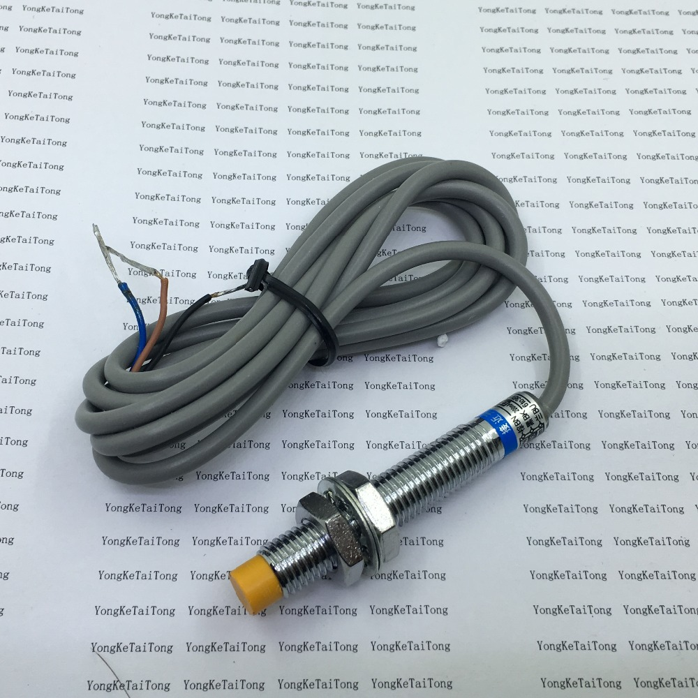 5pcs Lot Lj8a3 2 Z Bx Inductive Proximity Sensor Npn 3 Wire No Prox Switch Wiring Diagram Diameter 8mm