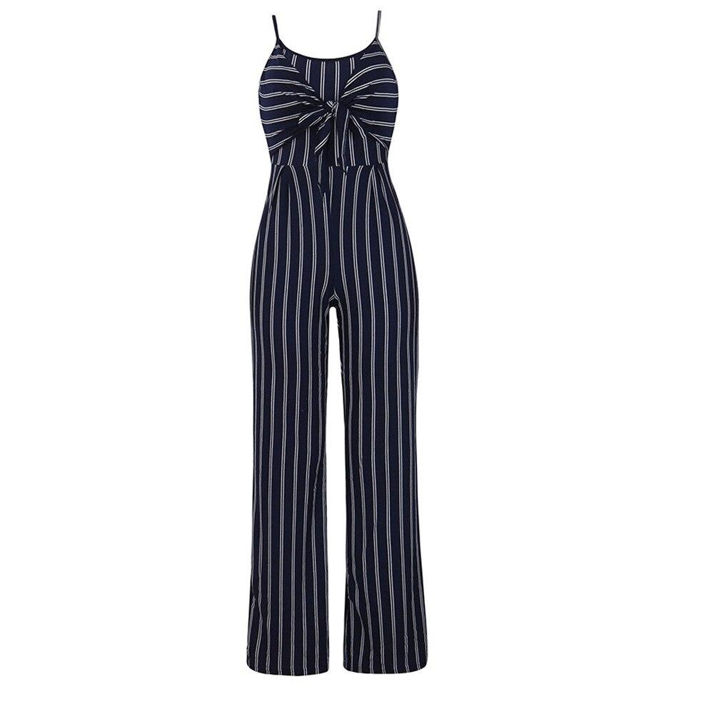 Jumpsuit Summer Women 2018 New Brand Sleeveless Bodysuits Sexy V-Neck Bandage Clubwear Elegant Jumpsuit combinai F#J07 (8)