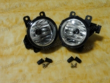 2Pcs Left & Right Car Front Bumper Fog Lights Lamps New For Mitsubishi Pajero NS NT NW 2006-2014