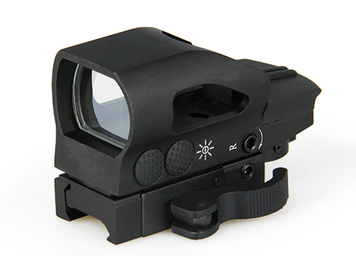 Free Shipping Tactical 1MOA Click 1x32x34 Red and Green Dot Reflex Sight For Outdoor Hunting CL2-0076 canis latrans tactical mini 1x red 2moa dot dot size free shipping cl2 0078