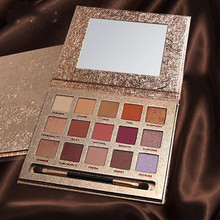 15 colors nude color shiny eye shadow palette makeup glitter paint smoky eyeshadow Palette waterproof cosmetics hold live color focus charm show red eye shadow palette nude shadows cosmetics korean makeup 12 colors pigment glitter eyeshadow