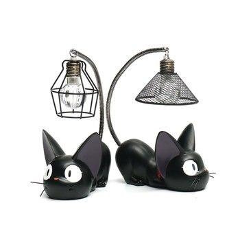 veilleuse chat noir idée de cadeau geek et insolite