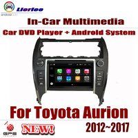 For Toyota Aurion 2012~2017 Car Android Player DVD GPS Navigation System HD Screen Radio Stereo Integrated Multimedia
