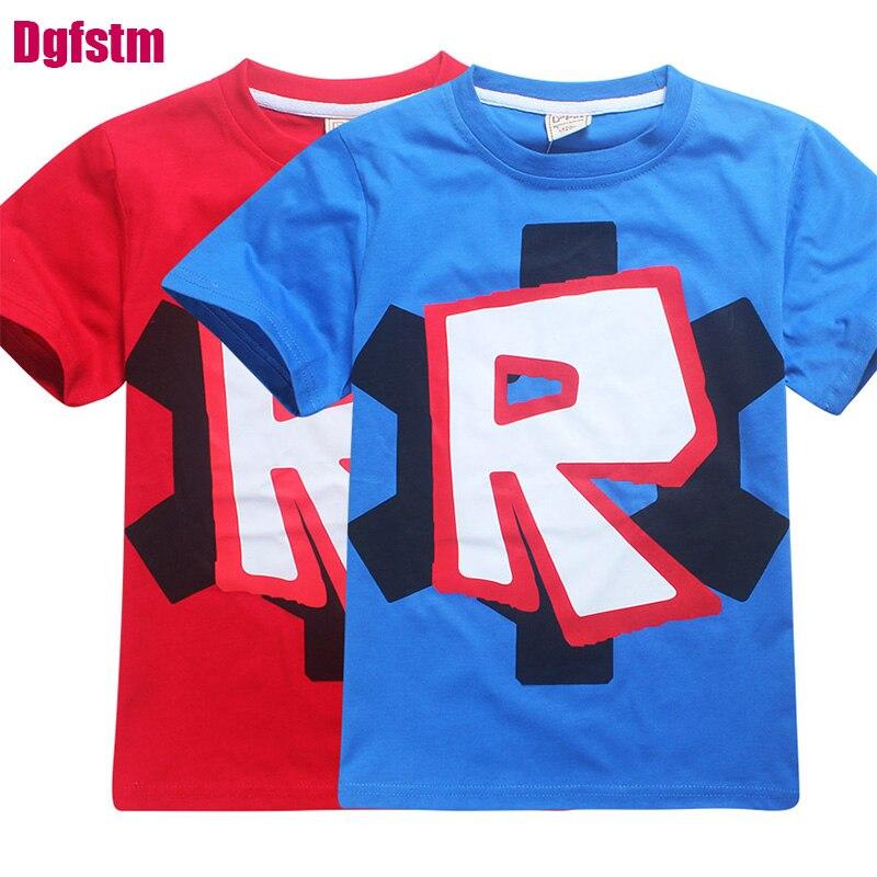 2018 kindkleidung jungen t-shirt Roblox zeichen Stardust Ethischen baumwolle t-shirt jungen kostüm gta v 5 shirts mädchen infantis menino