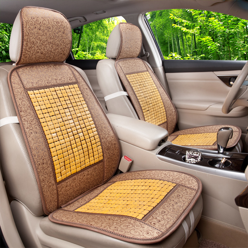 Strange Us 31 2 35 Off Fashion Summer Bead Bamboo Universal Car Seat Cover Set 2 Pieces Front Seat Cover In Automobiles Seat Covers From Automobiles Squirreltailoven Fun Painted Chair Ideas Images Squirreltailovenorg