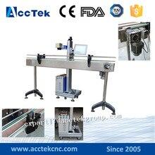 Portable factory direct sale flying fiber laser marker