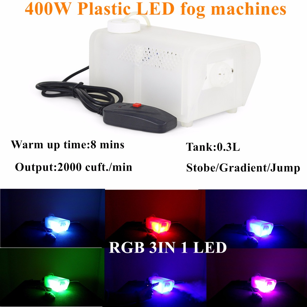 LED 400W Fog Machine/Smoke Machine/Fogger Stage Effect Light Plastic