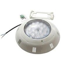 Yüzme havuzu LED renk değiştiren ışıklar 24W 36W 48W 60W 72W yüzey montaj düz spot RGB RGBW AC 12V sıcak soğuk beyaz