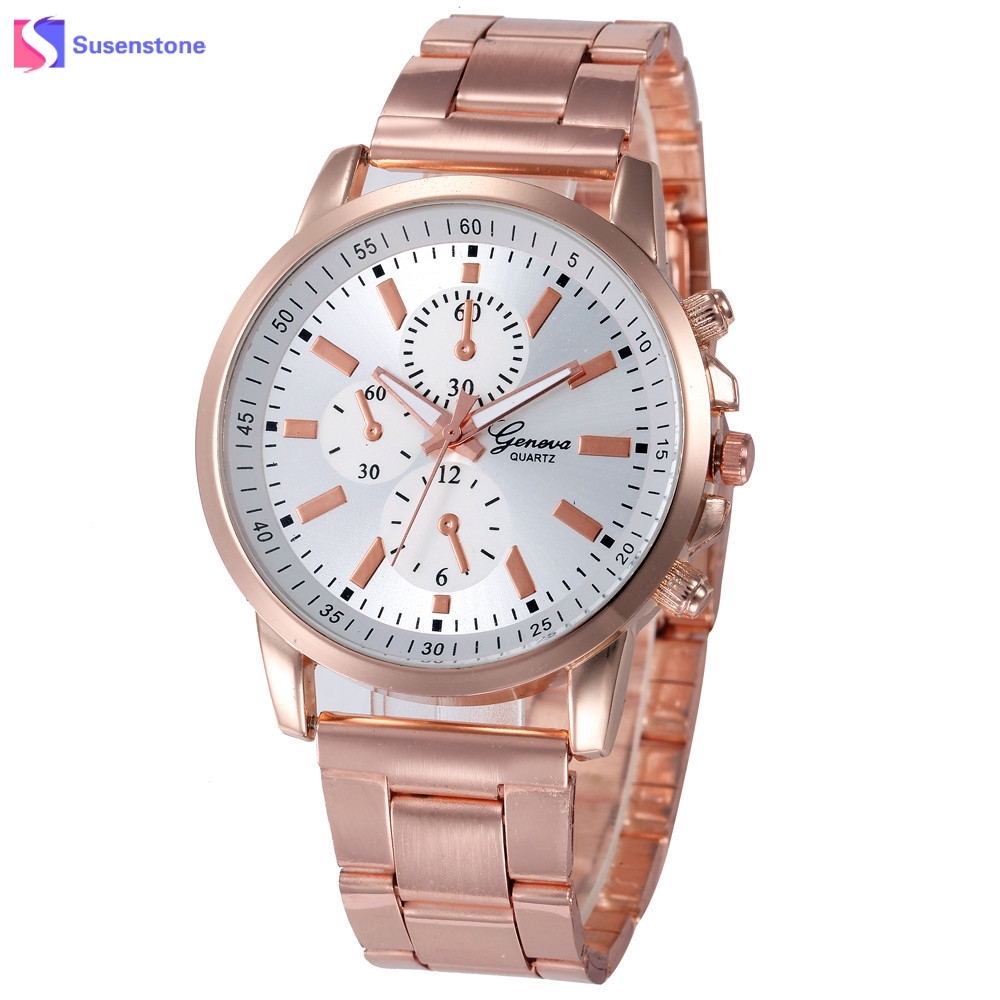 New Brand Watches Women Rose Gold Stainless Steel Band Analog Quartz Watch Classic Ladies Clock Women Watches Montre Femme цена и фото