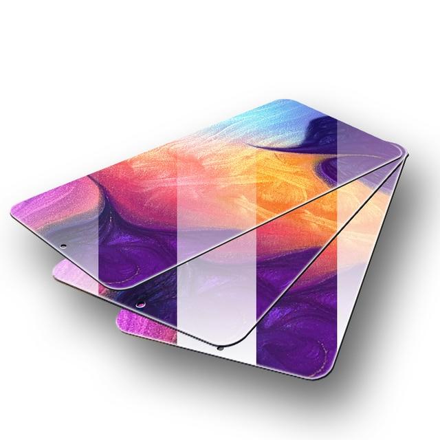 3Pcs Protective Glass for Samsung Galaxy A50 A30 A20 Screen Protector Tempered Glass for Samsung M10 M20 M30 A40 A70 A30 A50