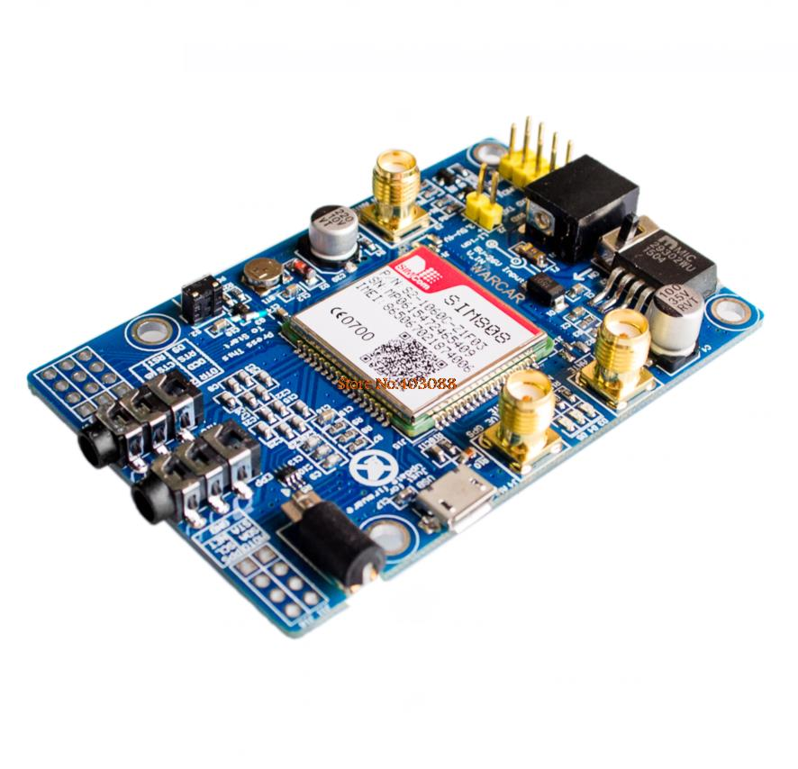 Basics: Project 053d SIM808 GSM GPRS GPS Bluetooth evolution board