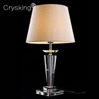 Современные светодиодные настольные лампы блеск кристаллов Настольные лампы для Спальня прикроватной тумбочке России Лампы для мотоцикло
