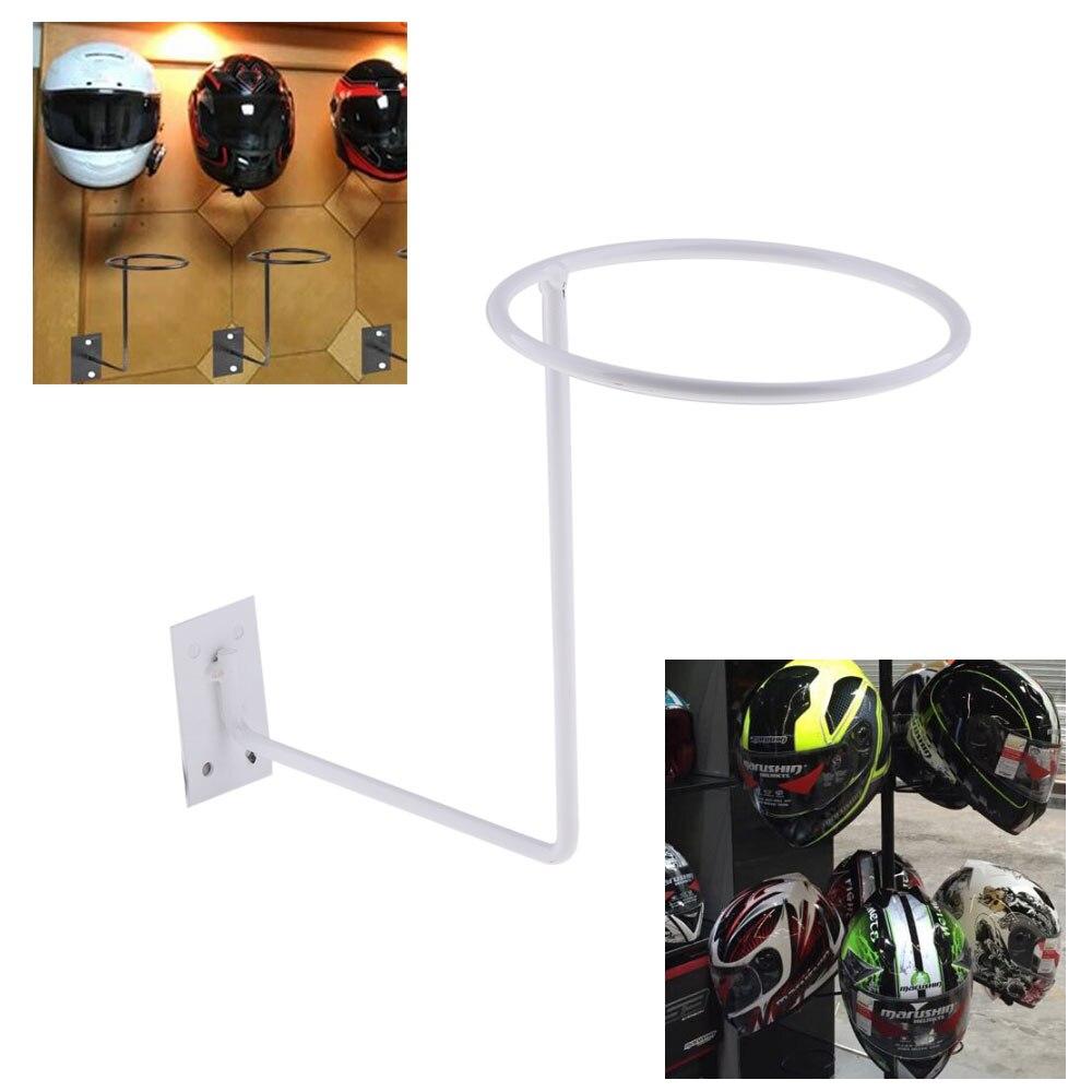 Negro Accesorio Multifuncional Casco Soporte para Sombrero Tama/ño Libre Casco Soporte de Pared para Casco de Motocicleta Soporte de Metal para Gorras Casco Duradero
