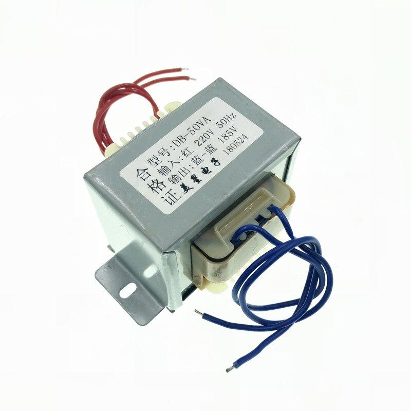 185V 0.27A Transformer 50VA 220V input EI66 Transformer amplifier power supply transformer цена