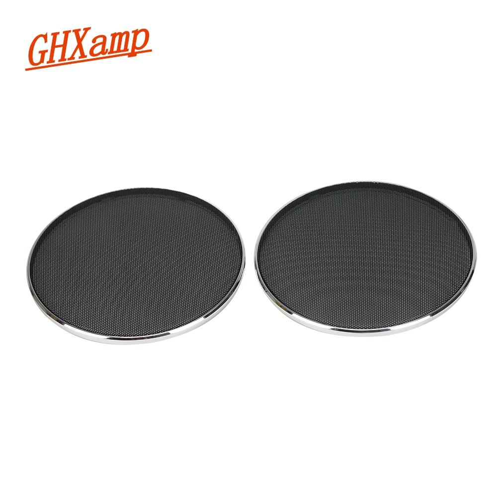 GHXAMP 2PCS 5 инча високоговорител грил окото корпус автомобил TREBLE мрежа защитно покритие няма дупки
