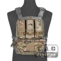 Emerson MOLLE Assault Pack Panel Multicam AOR2 Plate Carrier Back Bag with M4 M16 5.56 Magazine Pouch for CPC AVS JPC 2.0 Vest