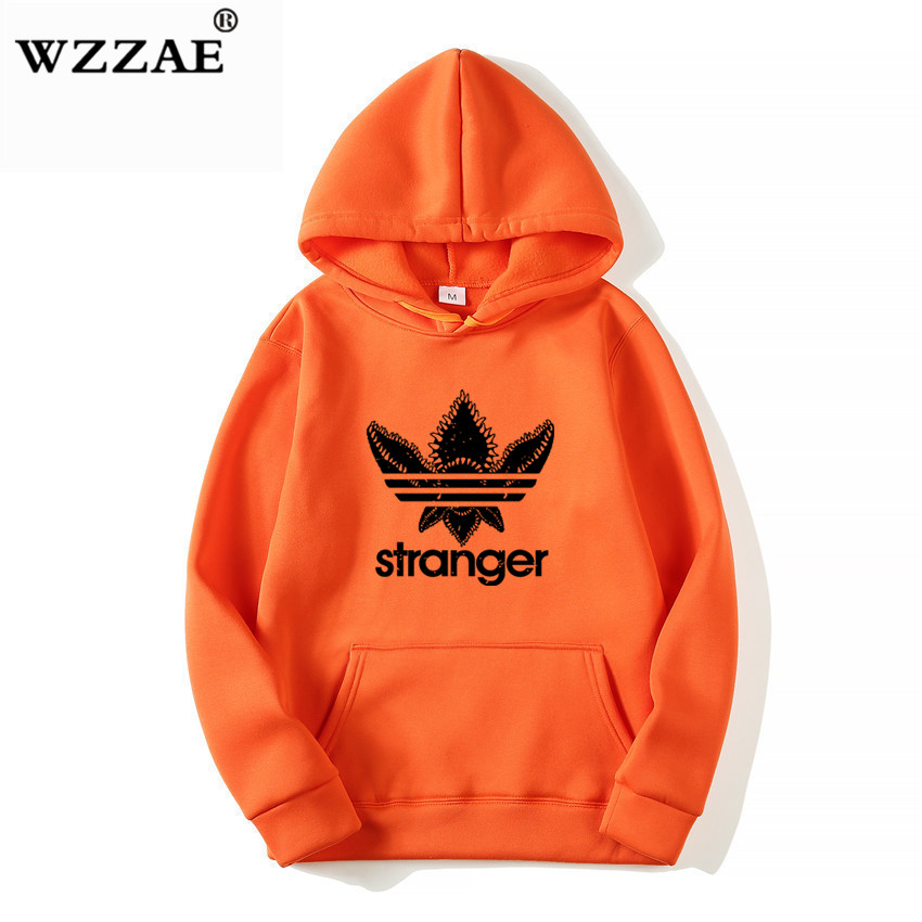 18 Brand New Fashion Stranger Things Cap Clothing Hooded Sweatshirt hoodies Men/Women Hip Hop Hoodies Plus Size Streetwear 8