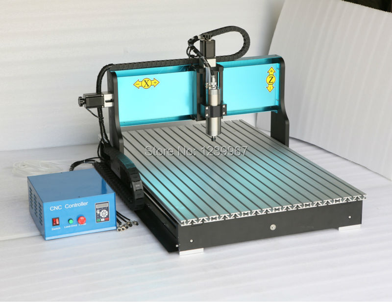 1500W 3Axis CNC Router USB Port MACH3 1.5kw Spindle 6090 CNC Engraving Milling Cutting DeskTop Machine