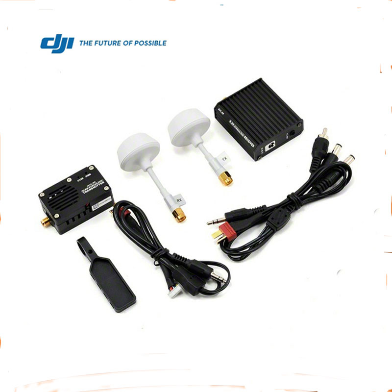 FPV ACCESSORY DJI AVL58 5.8-GHz Video Downlink Kit Black Module TX + Receiver Module RX FPV Tarot PTZ
