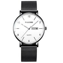 0814e6f88906 BELUSHI Relojes hombres reloj de marca de lujo para hombre relojes de moda  de negocios casuales