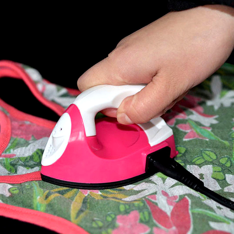 Protable-Handheld-Steam-Household-Ironing-Handmade-Beans-Mini-Electric-Iron-US-EU-Plug-Ironing-Boards-For