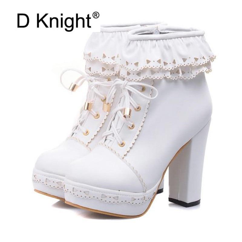 a160c73d701 best lolita shoes ruffles list and get free shipping - bk3nmam6