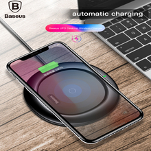 Baseus 10W QI Wireless charger fast wireless charging pad phone For iPhone X Samsung Galaxy S9  mobile