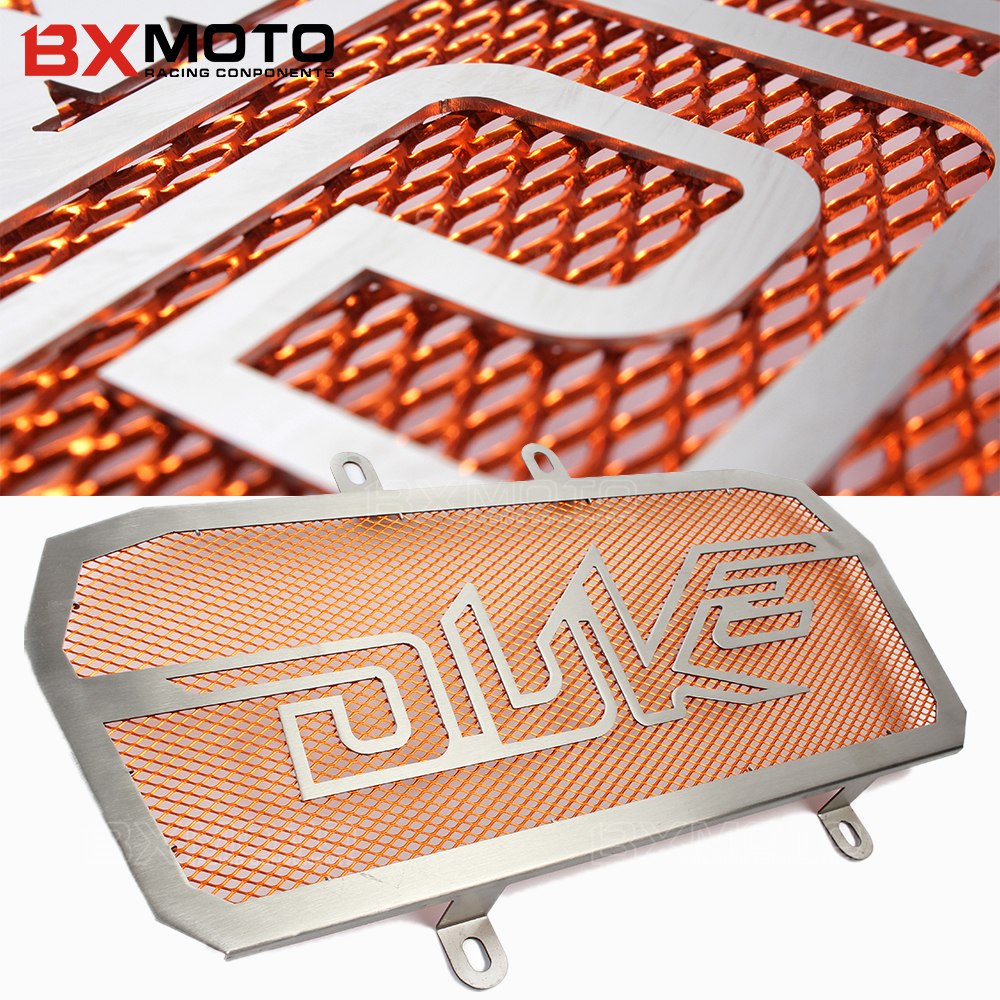 cnc Motorcycle Stainless Steel Radiator Grille Guard Protection For Ktm duke 125 200 390 duke390 Bezel engine grill guard cover new orange cnc frame sliders protectors guard for ktm duke 125 200 390 2012 13 14 15