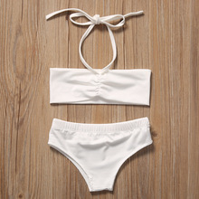 Kids Baby Girls Clothes Set 3pcs Swimwear
