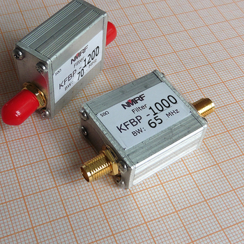 Can be customized narrowband bandpass filter, 800 to 1400MHz any frequency point, SMA interface