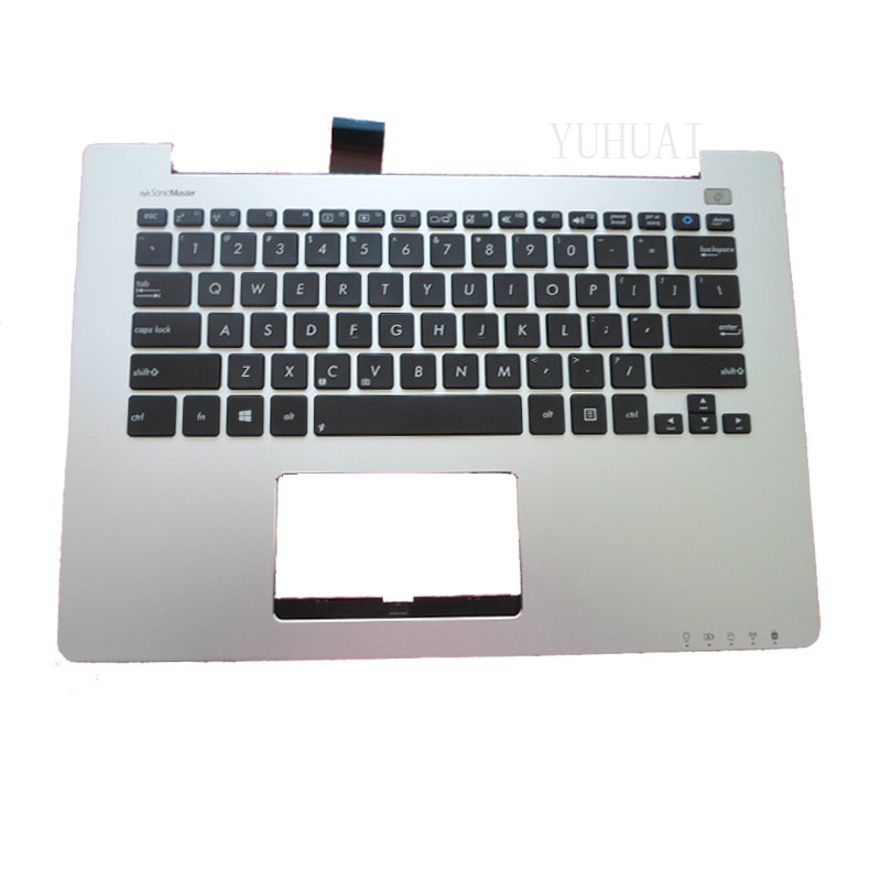 NEW Laptop keyboard For Asus S300 S300C S300SC S300K S300Ki With C Shell Palmrest Upper Series new russian for hp envy x2 11 g000 g003tu tpn p104 hstnn ib4c c shell ru laptop keyboard with a bottom shell