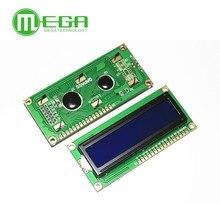 Nowy 1602 moduł wyświetlacza LCD LCD1602 5V 16x2 znaków moduł wyświetlacza LCD kontroler niebieski blacklight biały kod dla arduino