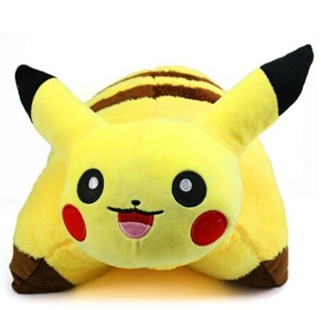 Neverland 42 x 33 cm 16.5 x 13 in Decorative Pillow Pet Cushion Pokemon Pikachu Plush Doll