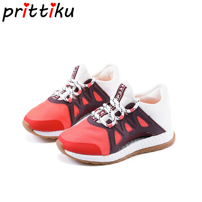 2018 Toddler Boy Girl Air Mesh Cut Out Sneakers Little Kid Sport Casual Fashion Trainers Big Children Brand Slip On Pink Shoes teva orginal universal kids sport sandal toddler little kid big kid