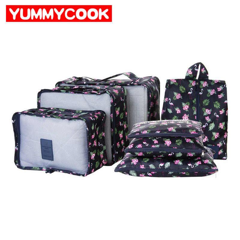 ba93bf947bd6 компл. новая женская одежда сумка для хранения нижнего белья Путешествия  обувь