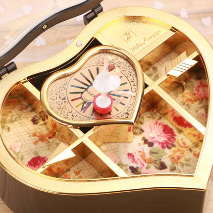 Gift Box Packaging Pakistan Wooden Music Boxrotating Dance Creative Birthday To Send Girls Crystal Ball Children