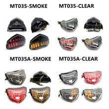 For Suzuki GSXR GSXR600 GSX-R 750 2004 2005 Motorcycle Clear LED Tail Light Turning Singal Light Stop Lamp цена и фото