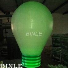 Горячая Распродажа Привлекательный подвесной гигантский надувной светильник воздушный шар-лампа надувная модель лампы с красочными светодиодами для рекламы