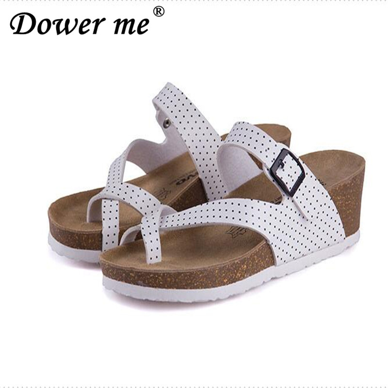 2017 Fashion Women Sandals Wedges Cork High Heels Shoes Gladiator Beach Shoes Summer Slippers Zapatos Mujer Sandalias Size 35-40 вавилонская башня и другие библейские истории page 3