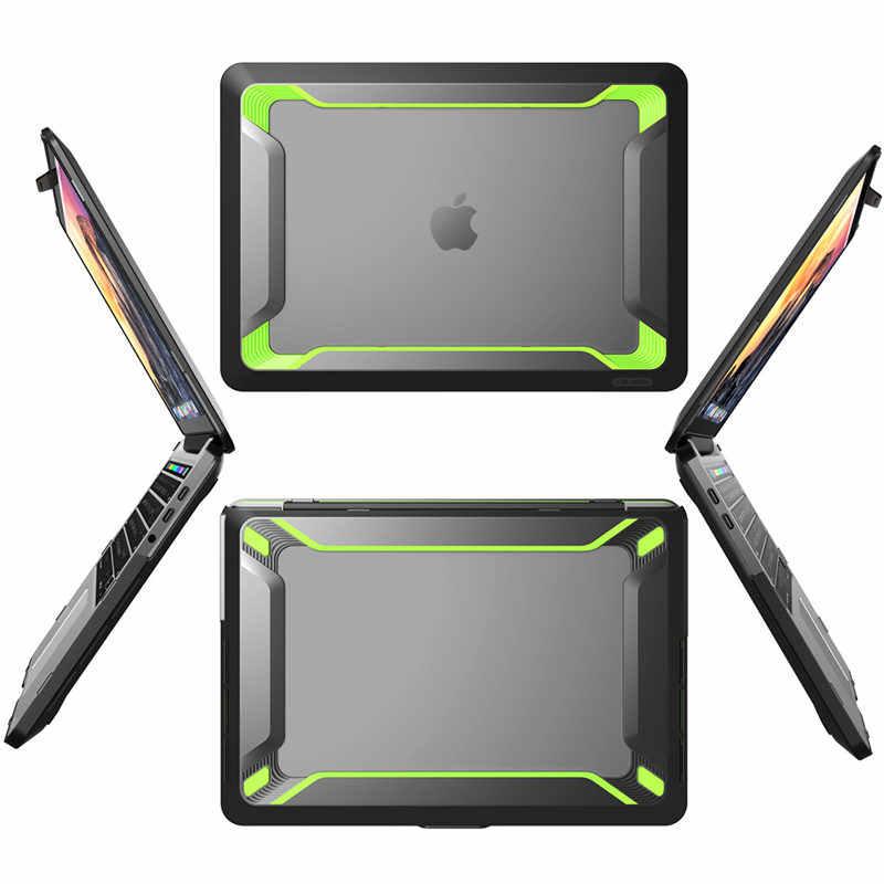 Dla MacBook Pro 15 A1990/A1707 (2019 2018 2017 2016 Release) z touch bar identyfikator dotykowy Heavy Duty gumowana obudowa z tpu