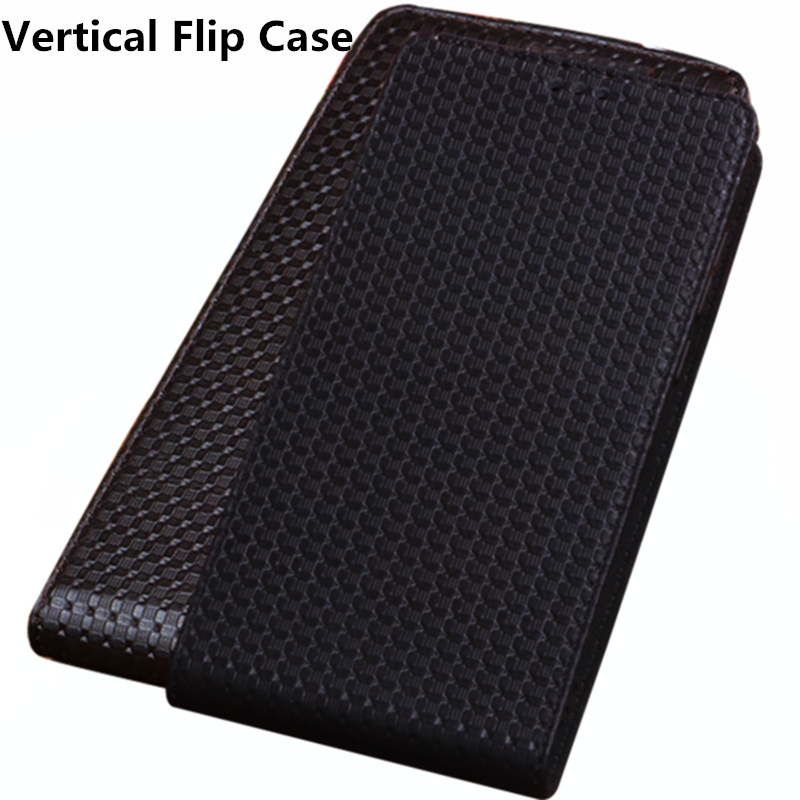 LJ15 Genuine Leather Flip Phone Case For Samsung Galaxy J6 2018 Vertical flip Phone Up and Down Leather Cover phone Case