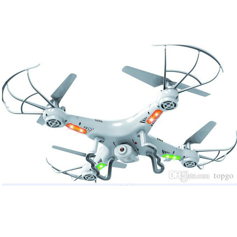 Drone 2.4G RC Helicopter With Camera 2MP HD Remote Control Toys X5C 4 CH 6 Axis Gyro Quadcopter With Camera Drones RC Plane Toy