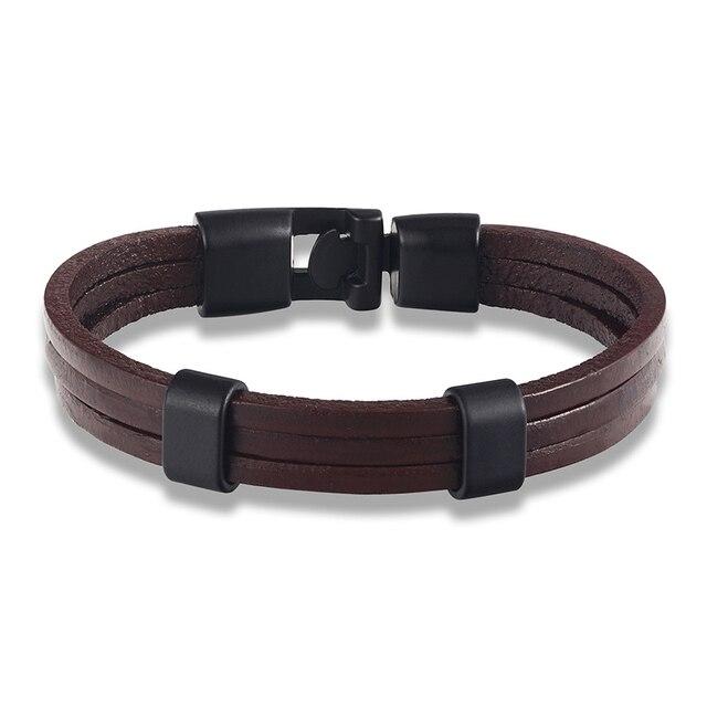Купить модный браслет janeyacy из натуральной кожи 21 см регулируемые